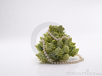 Romanesco Broccoli with pearls