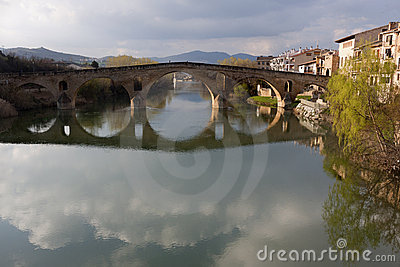 Romanesque bridge (Spain)