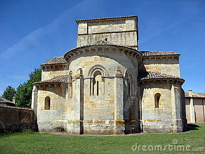 Romanesque chapel, Castile-Leon,Spain