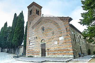 Romanesque church of Polenta