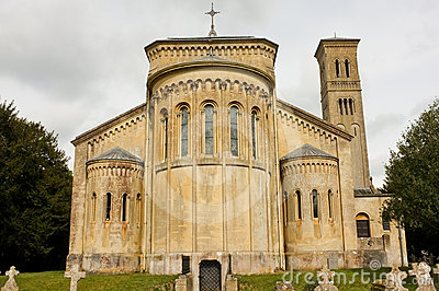 Romanesque Church, Wiltshire, England