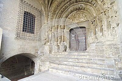 Romanesque facade