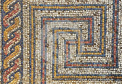 Romanesque mosaic