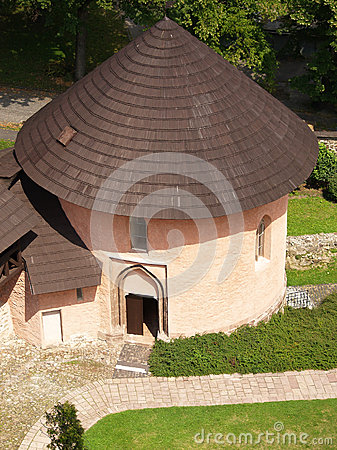 Free Romanesque Ossuary At Kremnica Castle Royalty Free Stock Images - 32868639