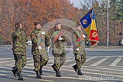 Romania flag Editorial Image
