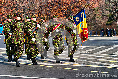 Romania flag Editorial Photography