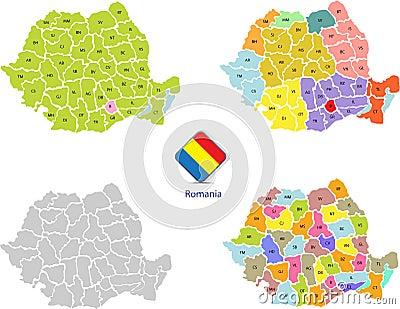 Romania maps 1