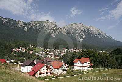 Romania Mountain Village