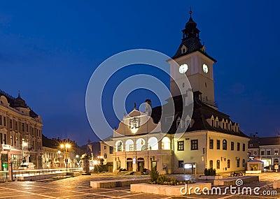 Romania old city from Transylvania