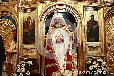 Romania Patriarch Daniel Editorial Stock Photo