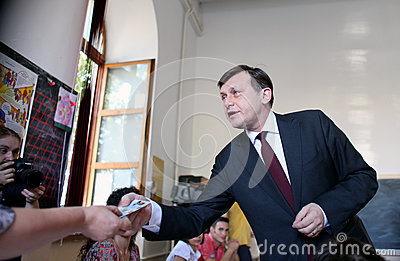 Romania - President Referendum Editorial Photography