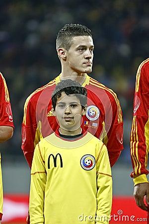 Romania-Uruguay Friendly Match Editorial Stock Image
