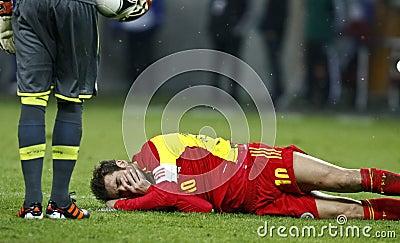 Romania-Uruguay Friendly Match Editorial Photography
