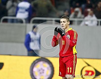 Romania-Uruguay Friendly Match Editorial Image