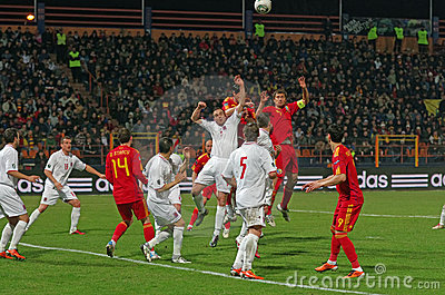 Romania vs Luxembourg Editorial Photo
