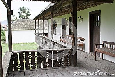 Romanian 1800 s traditional inn