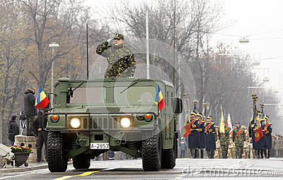 Romanian army Editorial Image