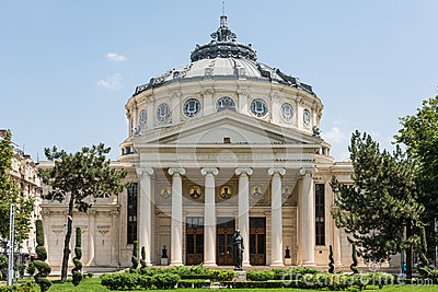 The Romanian Athenaeum Editorial Image