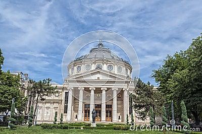 The Romanian Athenaeum Editorial Stock Image