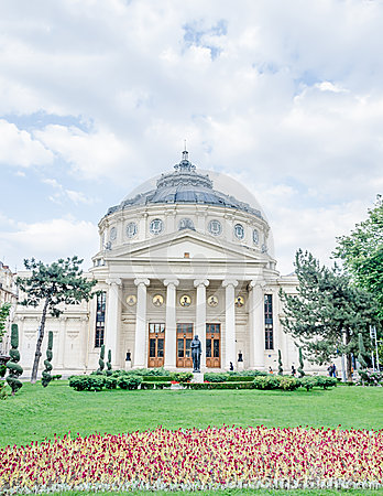 Free Romanian Athenaeum From Bucharest, Romania Royalty Free Stock Images - 41016179