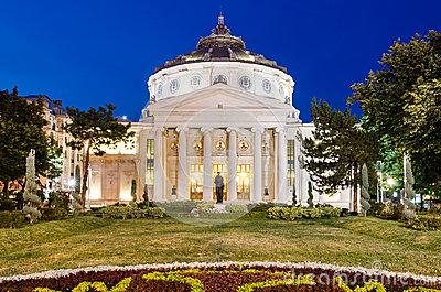 Romanian Atheneum, Bucharest