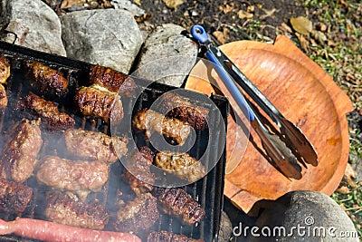Romanian barbecue