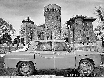 Romanian car Editorial Stock Image