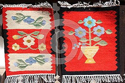 Romanian carpets
