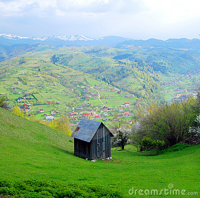 Romanian countryside chalet