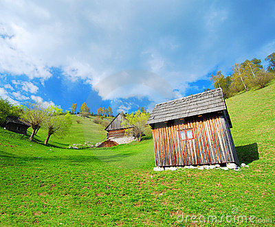 Romanian countryside chalets