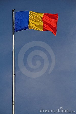 Romanian Flag and PRIDE