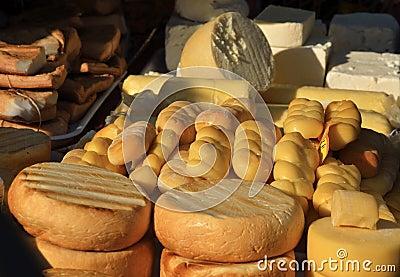 Romanian kashkaval cheese