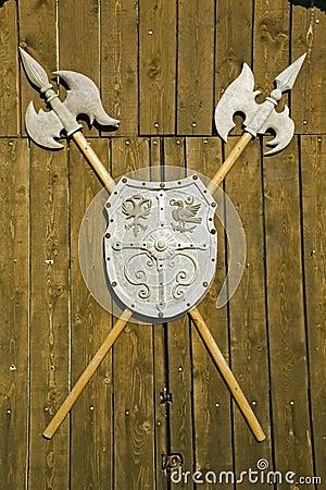 Romanian medieval halberd