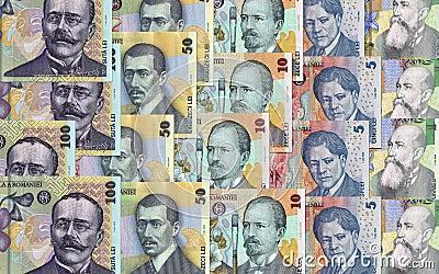 Romanian money