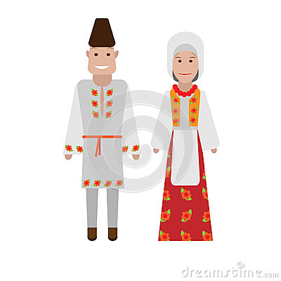 Romanian national costume