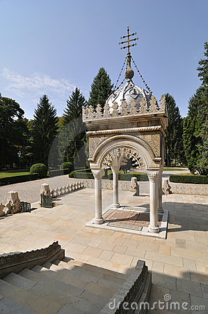 Free Romanian Orthodox Monastery Royalty Free Stock Image - 17274106