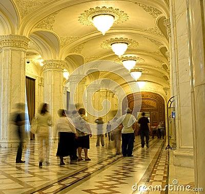 Romanian Parliament Editorial Photography