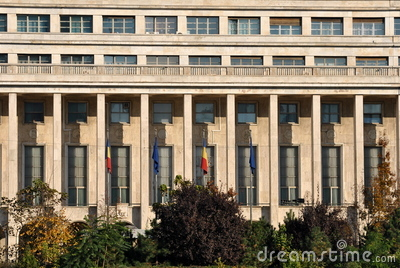 Romanian parliament Editorial Photography