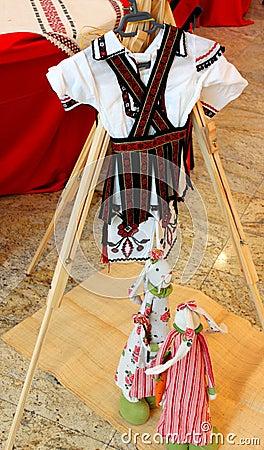Romanian peasant costume for children