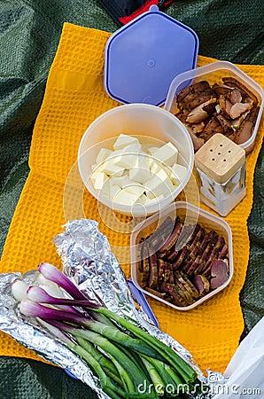 Romanian picnic