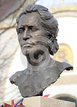 Free Romanian Poet Mihai Eminescu Stock Photography - 37801892