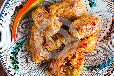 stuffed cabbage leaves sarmale stuffed cabbage leaves sarmale romanian ...