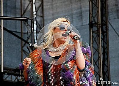 Romanian singer Loredana Groza Editorial Photo