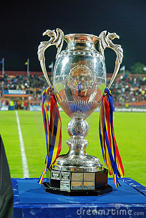 Romanian soccer cup Editorial Stock Photo