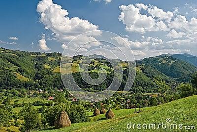 Romanian spring landscape