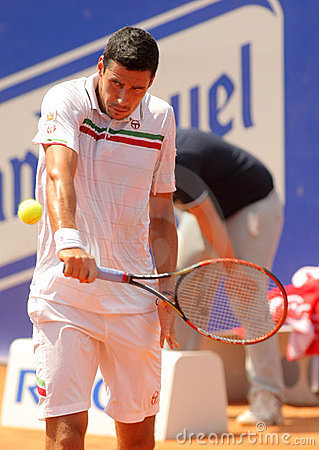 Romanian tennis player Victor Hanescu Editorial Stock Photo