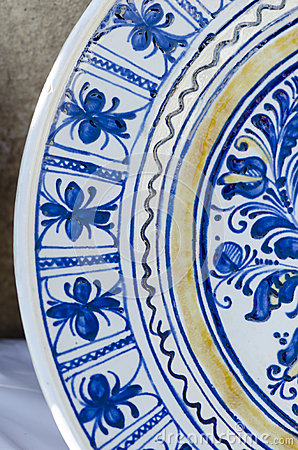 Free Romanian Traditional Ceramic Stock Photography - 39633172