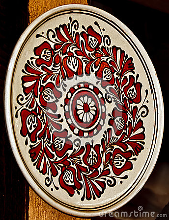 Free Romanian Traditional Ceramics 19 Royalty Free Stock Image - 39516976
