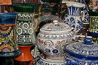 Romanian traditional ceramics 2