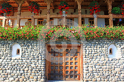 Romanian traditional house in Maramures
